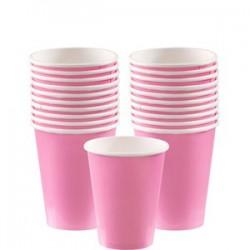 Pappbecher rosa