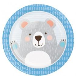 """Pappteller groß """"Bär"""""""