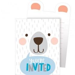 """Einladungen """"Bär"""""""