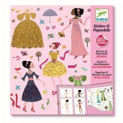Stickers & Paper Dolls - SOFORT VERFÜGBAR