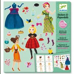 "Stickers & Paper Dolls ""Todschick"" - SOFORT VERFÜGBAR"