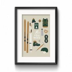 """Poster """"All you need"""" - SOFORT VERFÜGBAR"""
