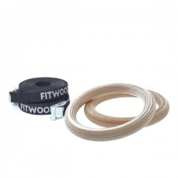 FitWood - KIDS GYM RINGS