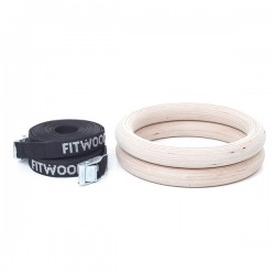 FitWood - ADULT GYM RINGS