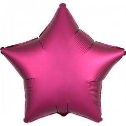 Folienballon Stern pink - SOFORT VERFÜGBAR