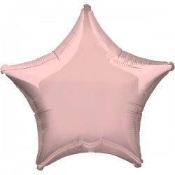 Folienballon Stern rosa - SOFORT VERFÜGBAR