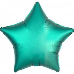 Folienballon Stern türkis - SOFORT VERFÜGBAR