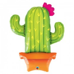 Folienballon Kaktus - SOFORT VERFÜGBAR