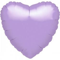 Folienballon Herz flieder - SOFORT VERFÜGBAR