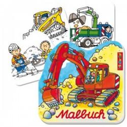 Malbuch Baustelle - SOFORT VERFÜGBAR