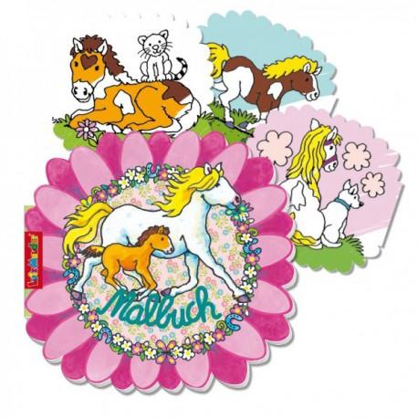 Malbuch Pferde - SOFORT VERFÜGBAR