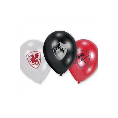 Lftballons - stolzer Ritter