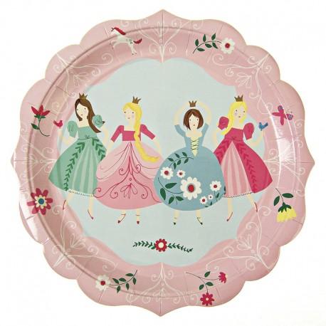 meri meri I'm a princess large plate